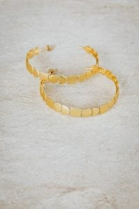 GEOMETRICAL HOOPS EARRINGS