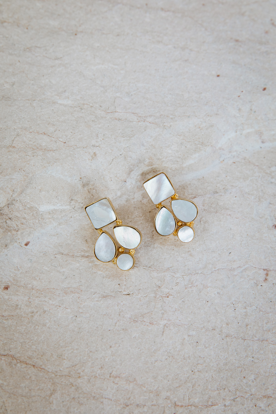 ORA MOTHER OF PEARL EARRINGS