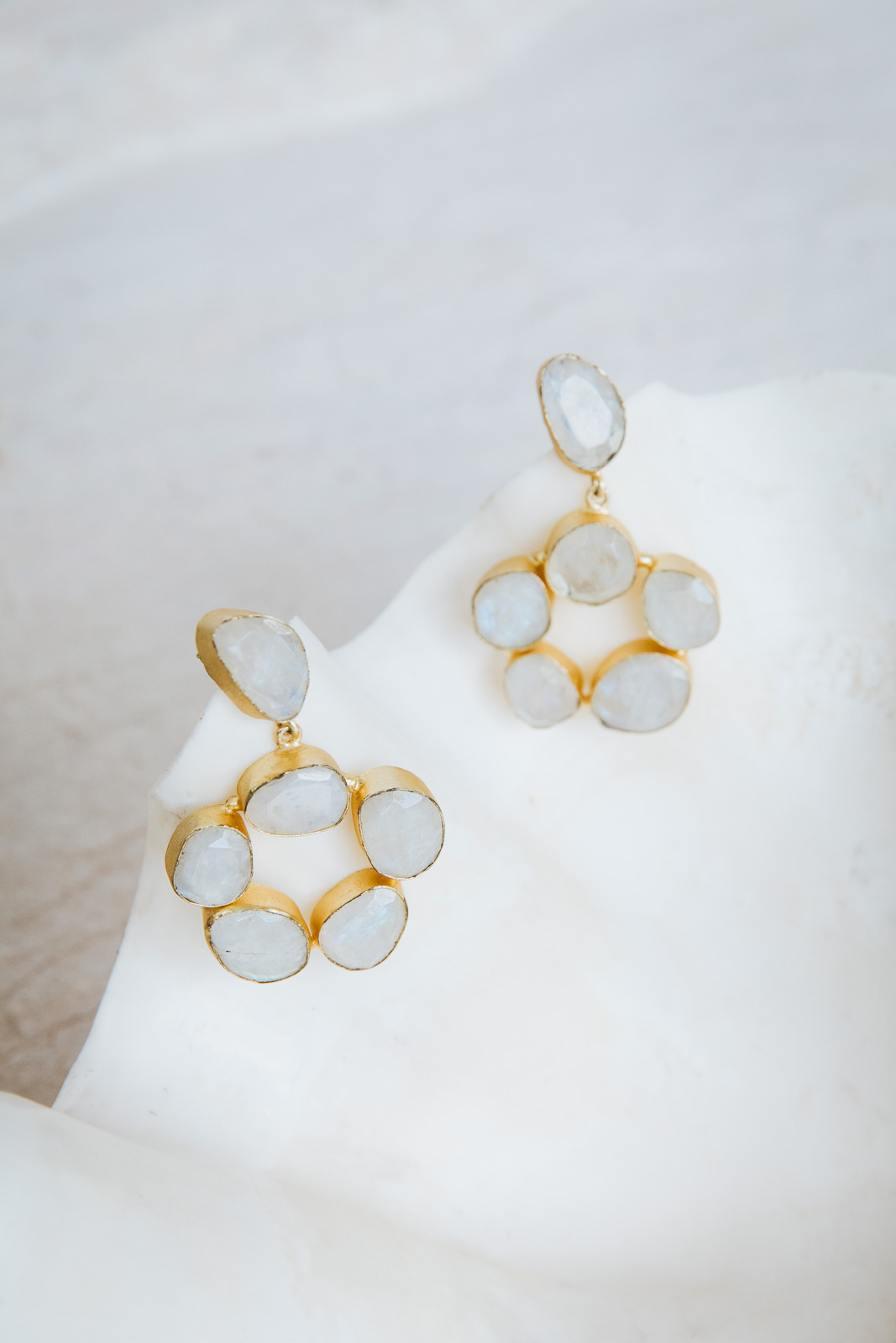 RITA MOONSTONE EARRINGS
