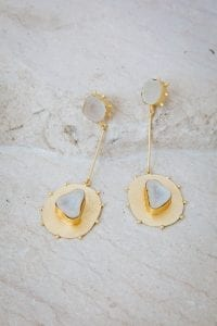 XANTHA STONE EARRINGS