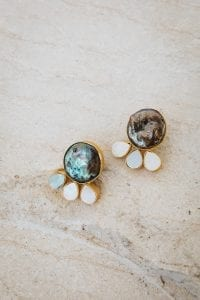KEANNA MINI PEARL EARRINGS