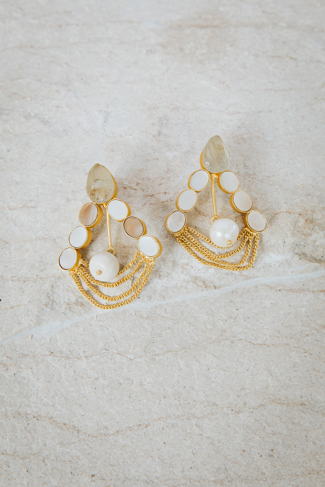 CANDICE PEARL DROP EARRINGS