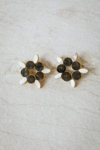 PAMMELA FLOWER EARRINGS