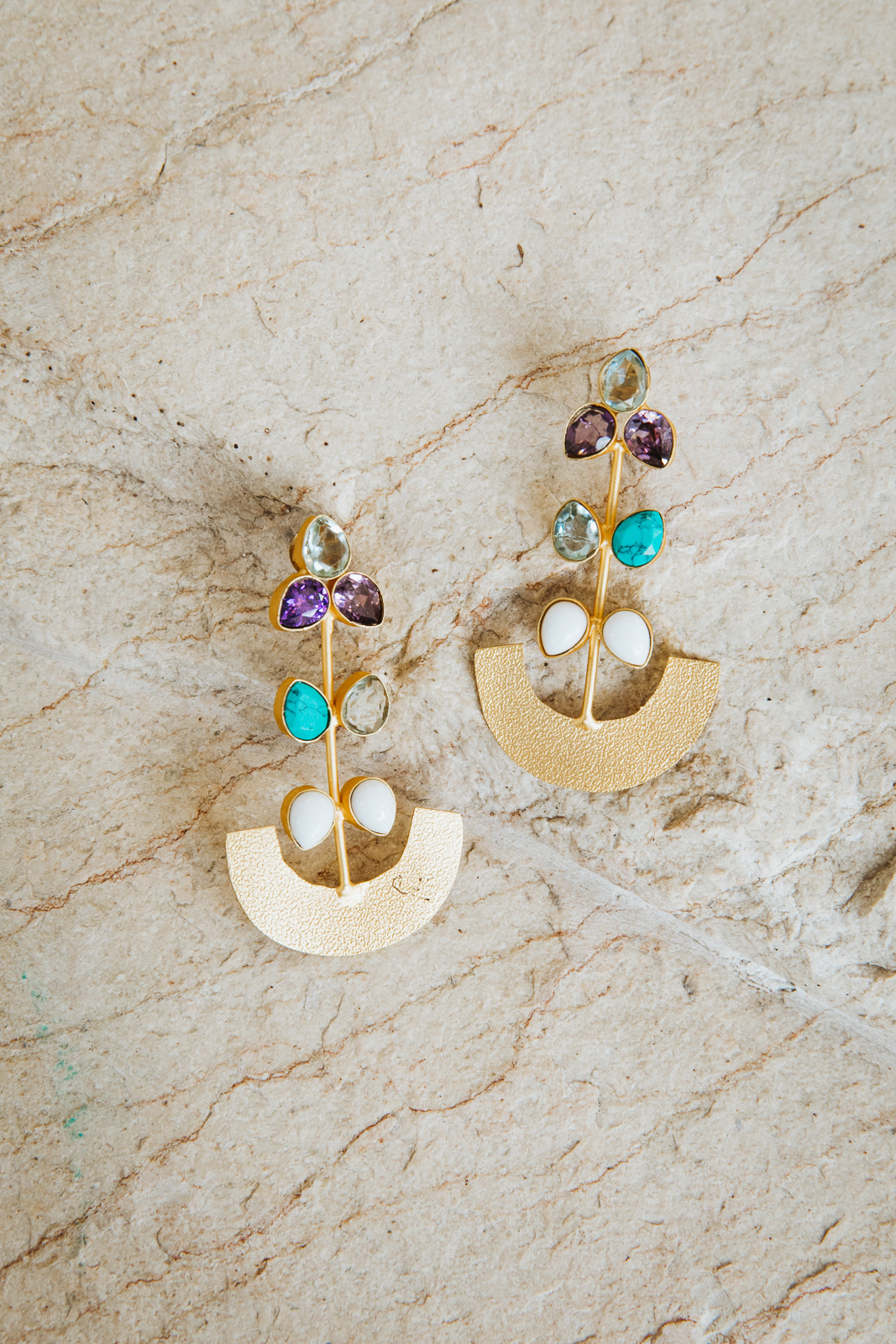JEZEBEL STONE EARRINGS