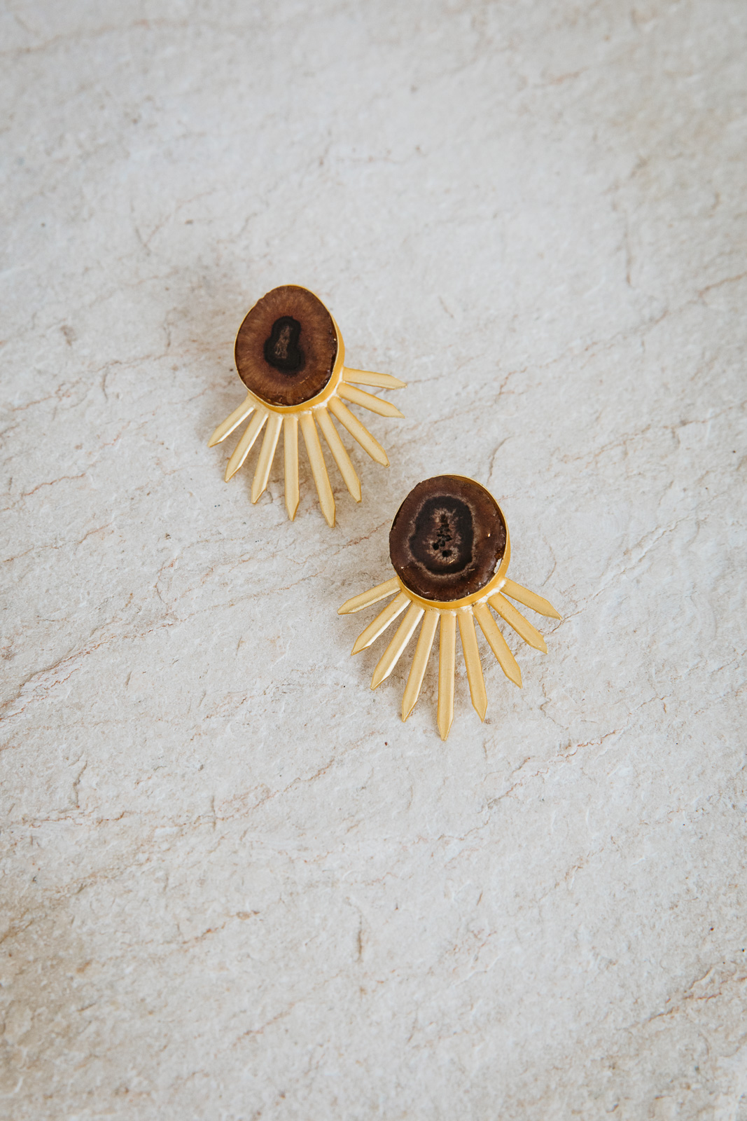 HAZEL STONE EARRINGS