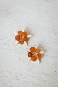 LANTANAS FLOWER EARRINGS
