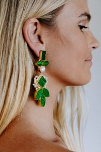 IVY GREEN EARRINGS